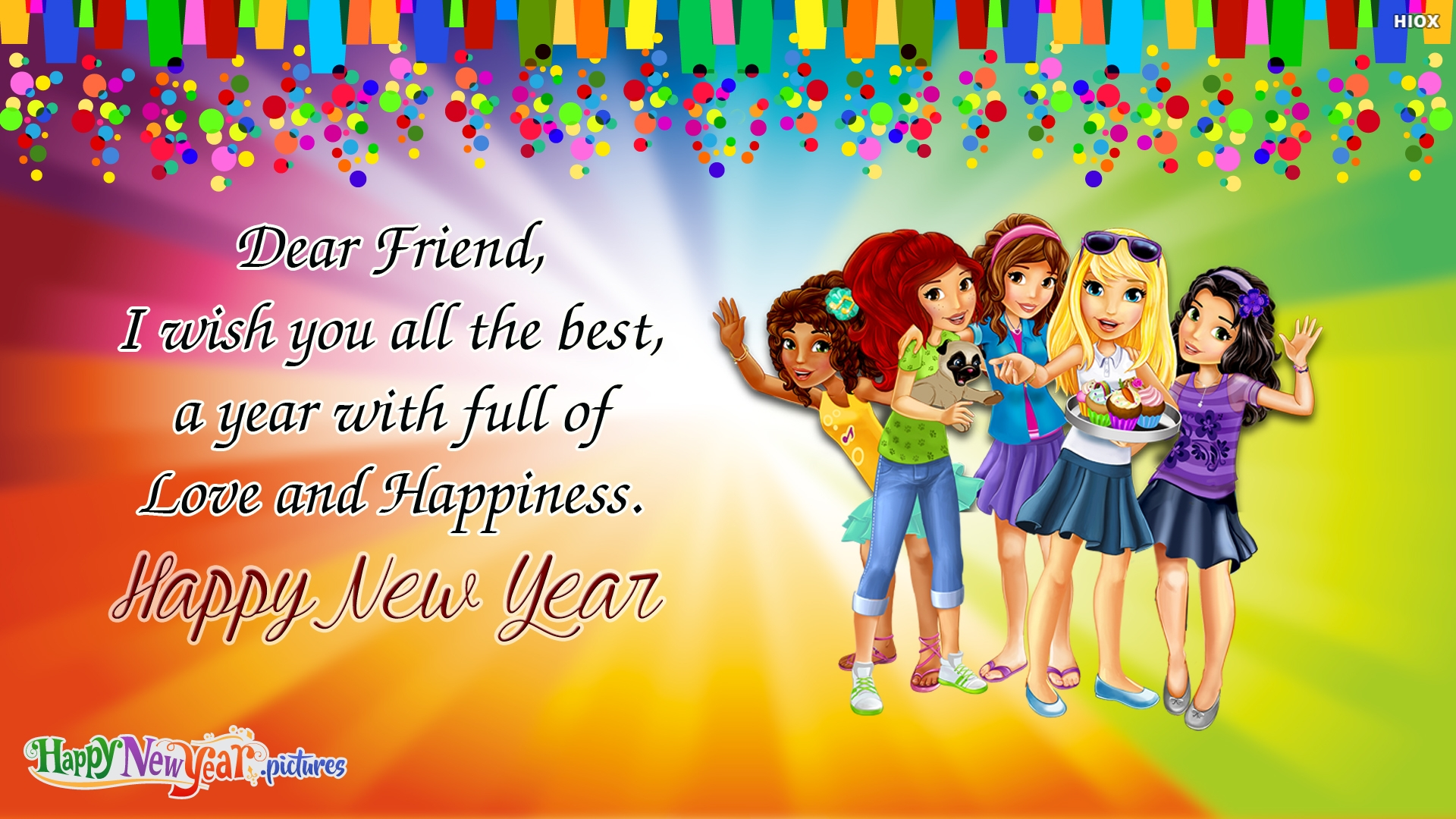 Happy New Year Friends Love You All