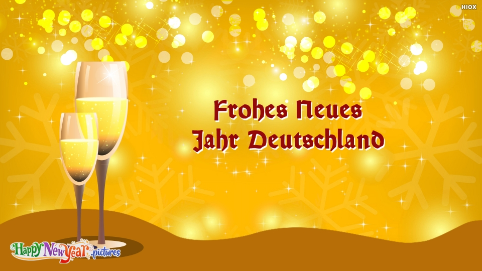 Happy New Year Wishes In German