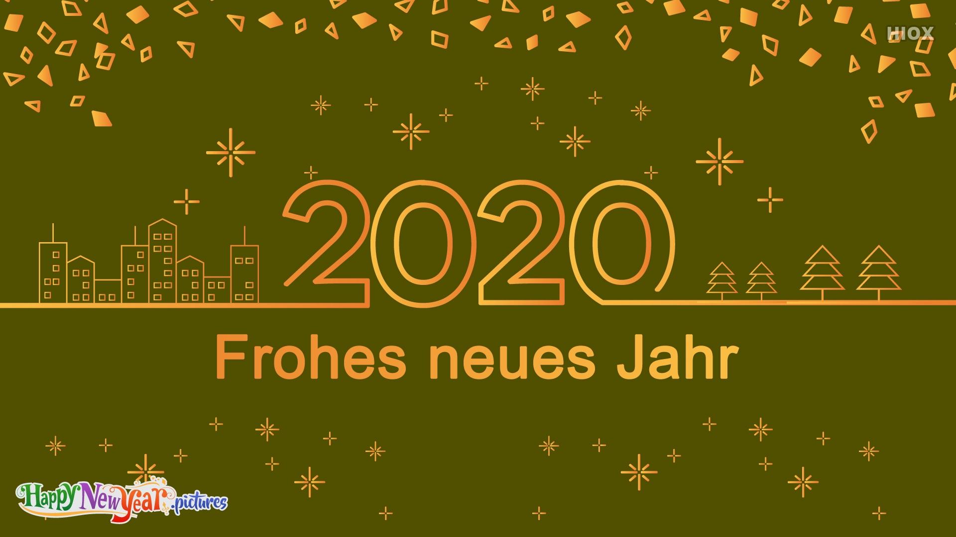 Happy New Year 2020 Dear German Friends