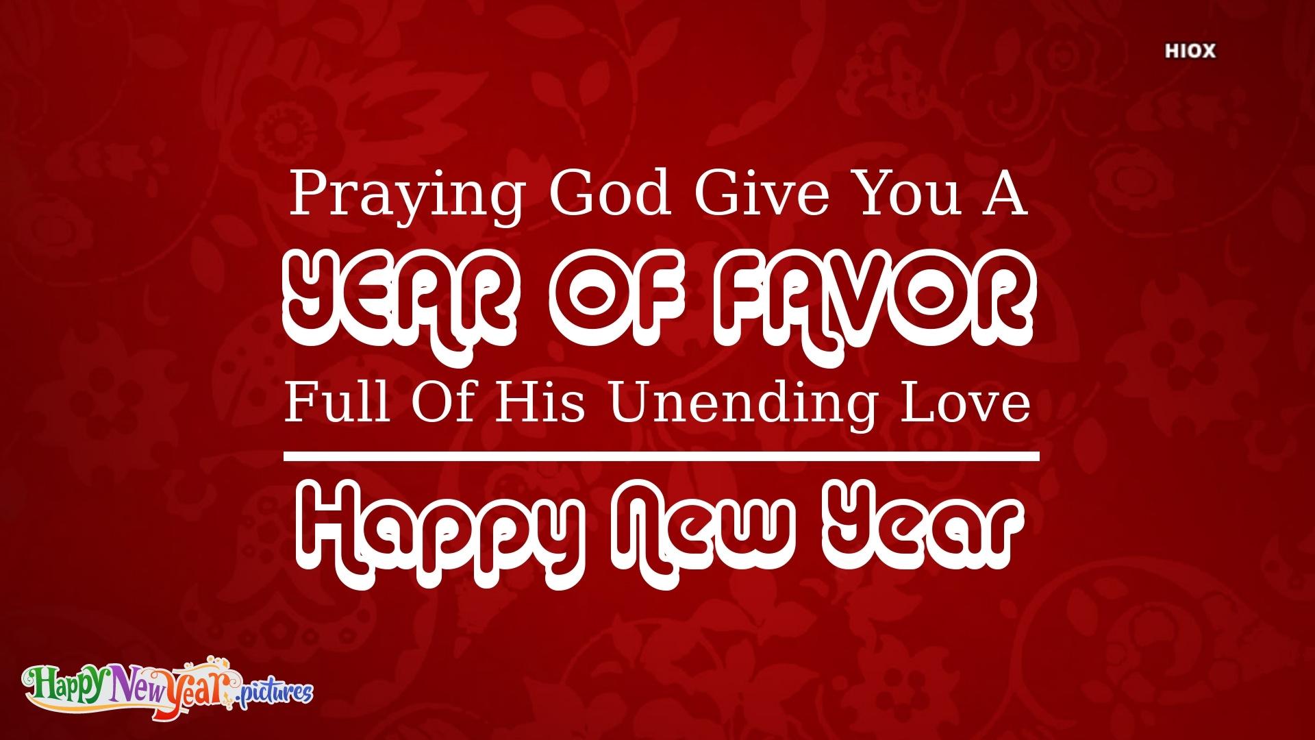 Happy New Year God Bless