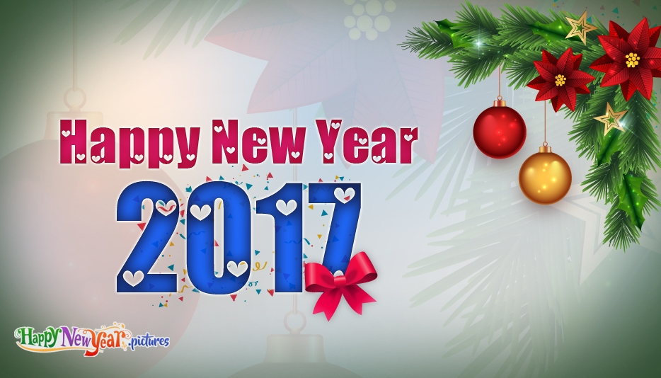 Happy New Year Greetings 2017 - Happy New Year Images for 2017