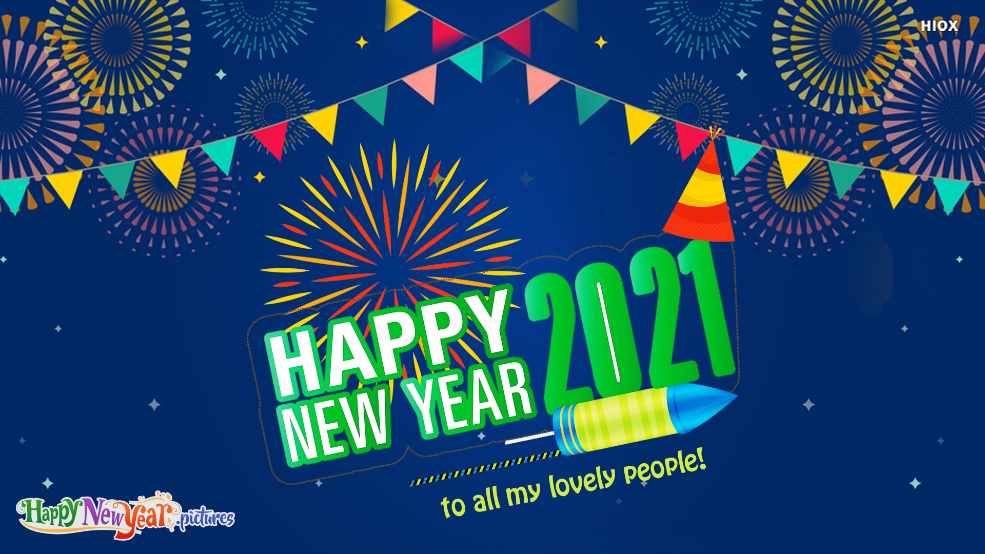 Happy New Year To All My Lovely People!