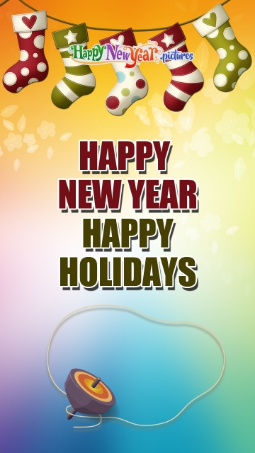 Happy New Year and Happy Holidays Dear Friends