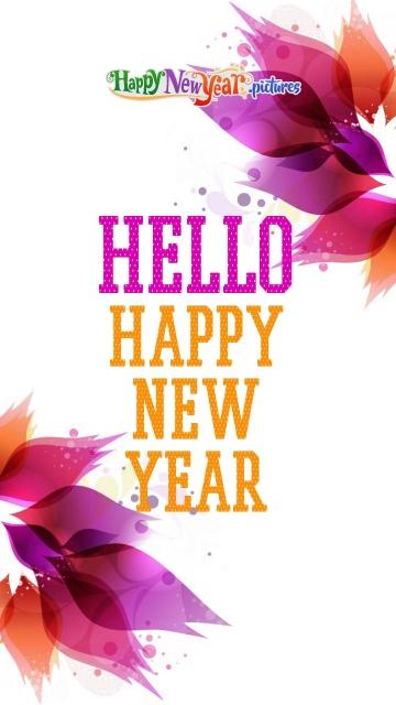 Happy New Year Hello