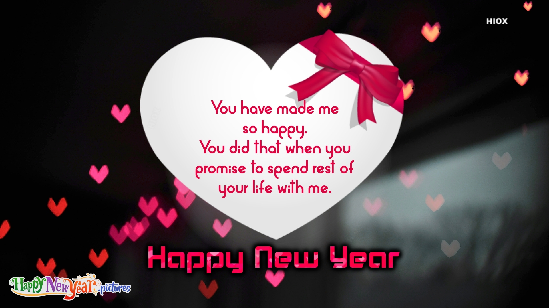 Happy New Year Dear Hubby