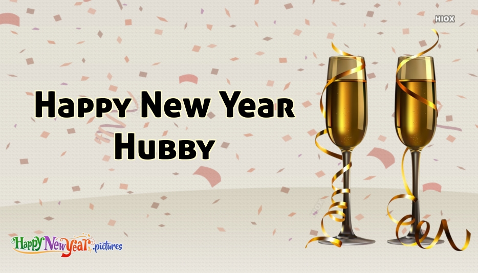 Happy New Year Hubby Image