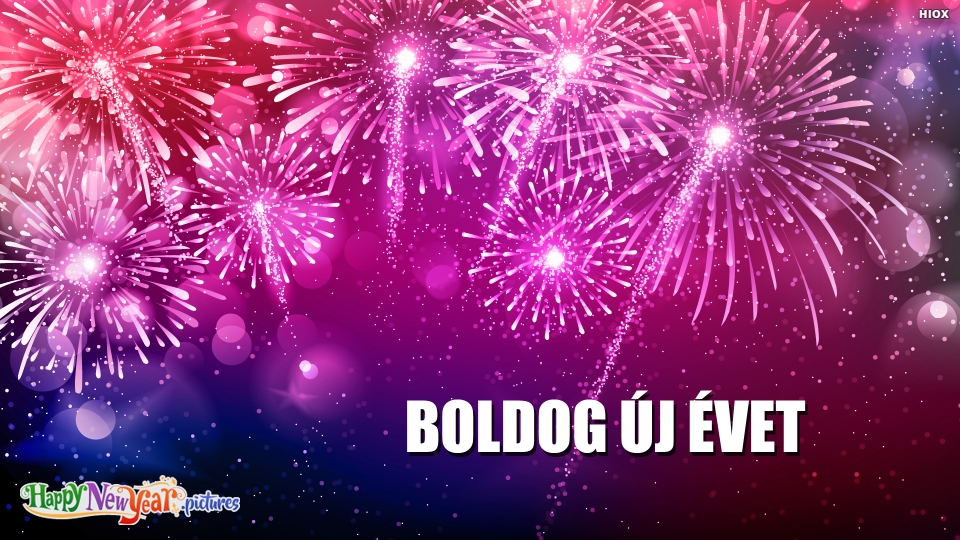 Happy New Year Wishes In Hungarian