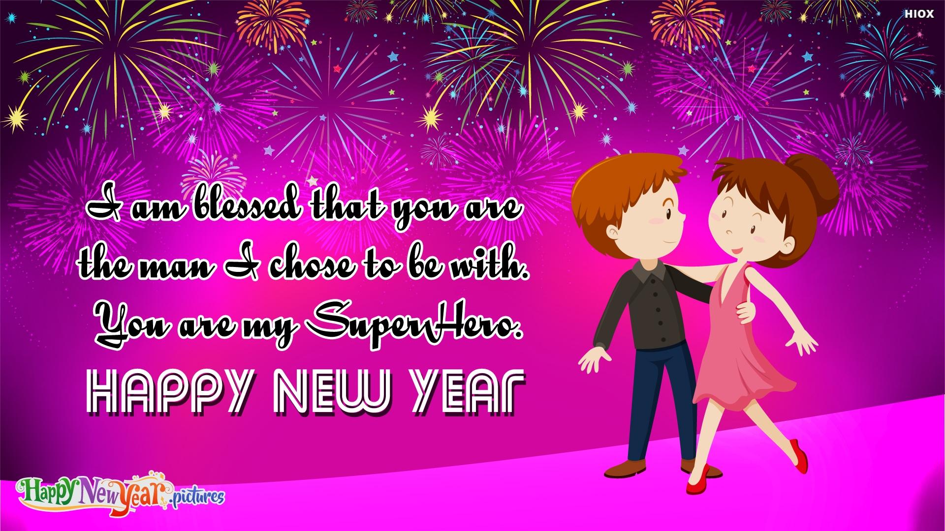Happy New Year Dear Husband