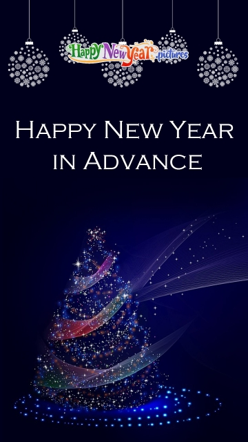 Happy New Year In Advance Dear All