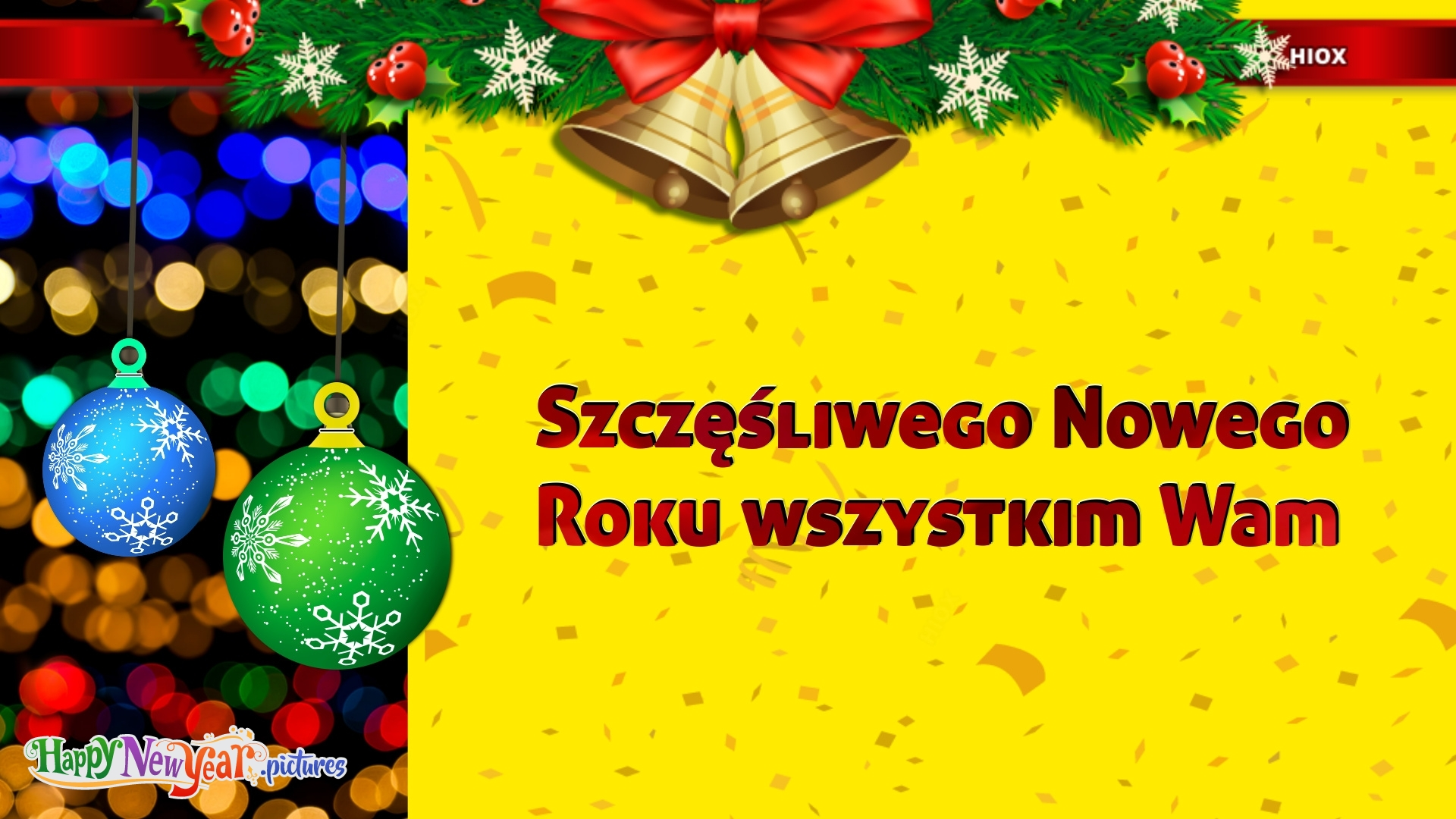 Happy New Year To All Of You In Polish