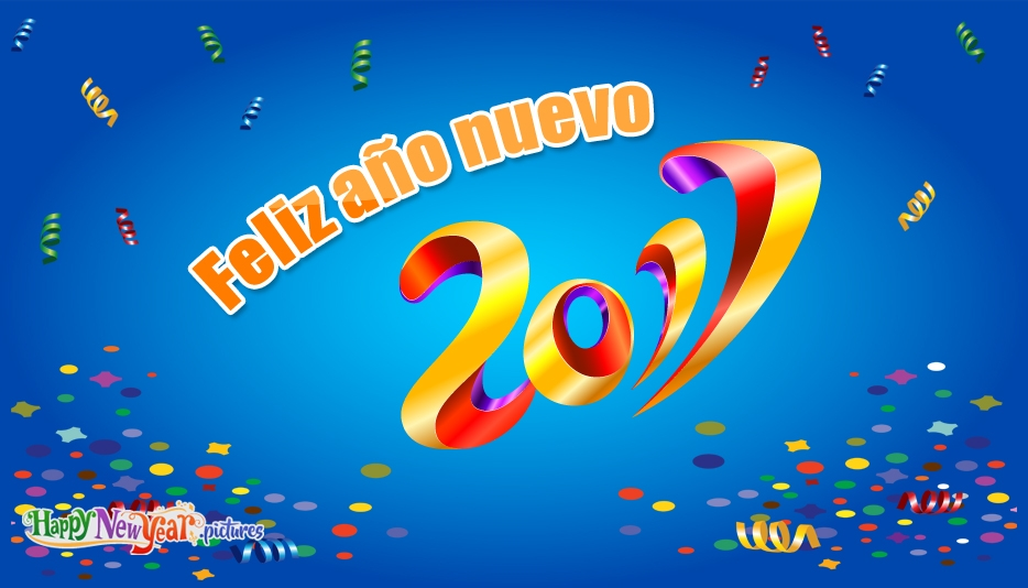 Happy New Year in Spanish Language - Happy New Year Images in Spanish