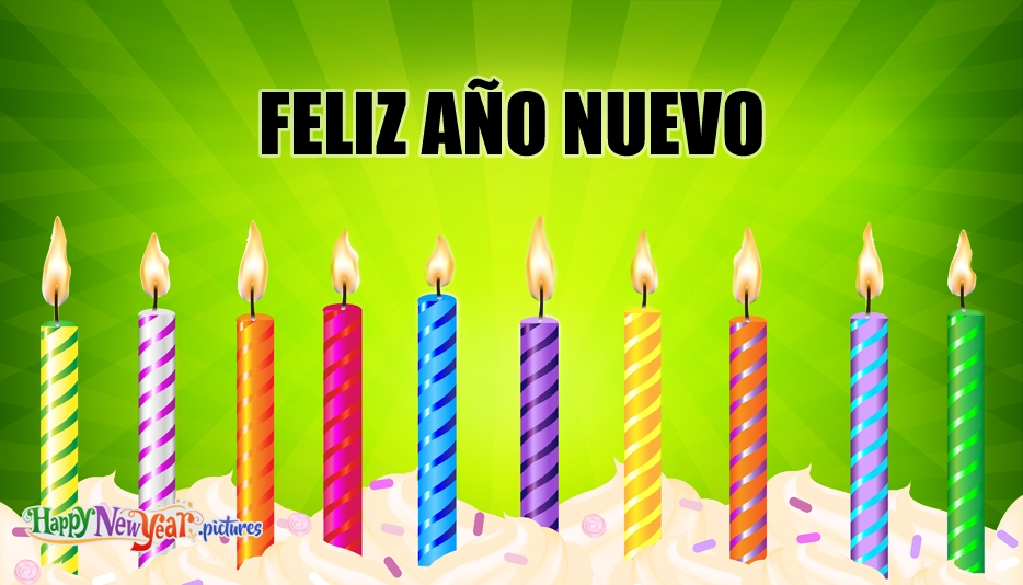 Happy New Year in Spanish - Happy New Year Images for Spanish