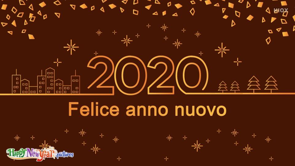 Happy New Year 2020 Dear Italian Friends