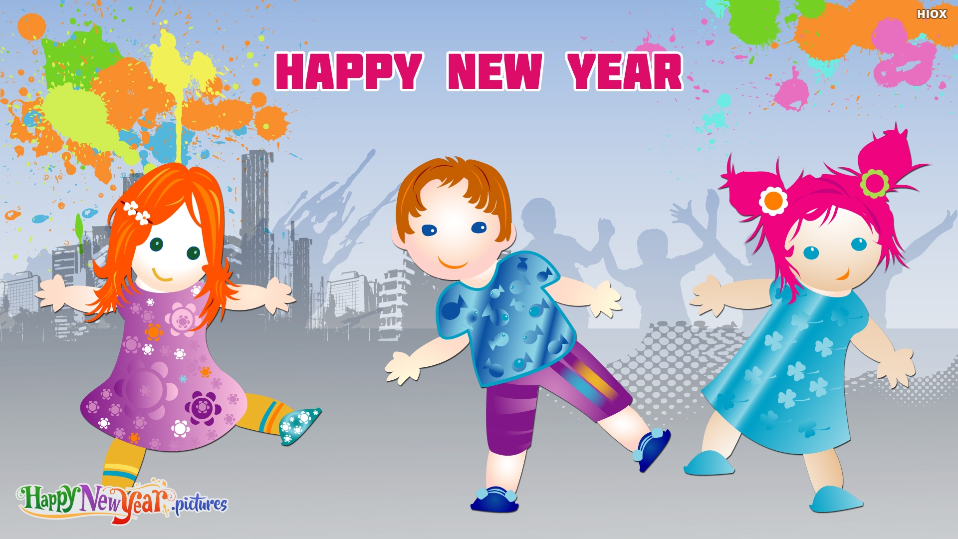 Happy New Year Dear Kids