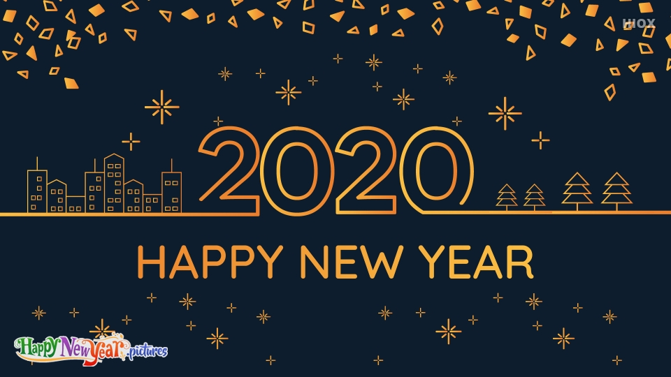 Happy New Year 2020 My Lovable Friends