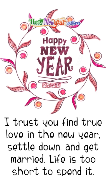 Happy New Year 2020 Wishes Love