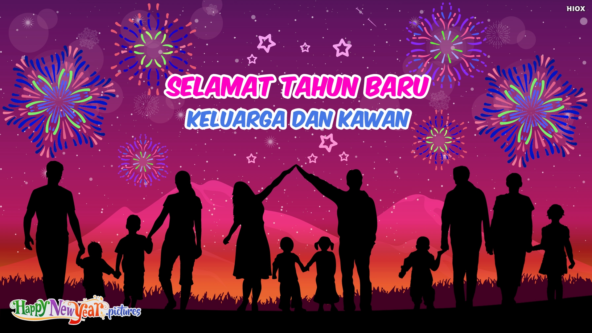 Happy New Year Family and Friends In Malay