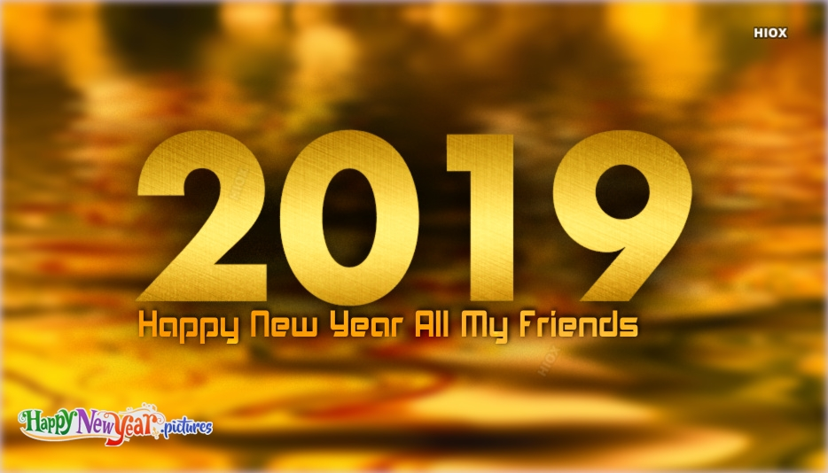 Happy New Year My All Fb Friends