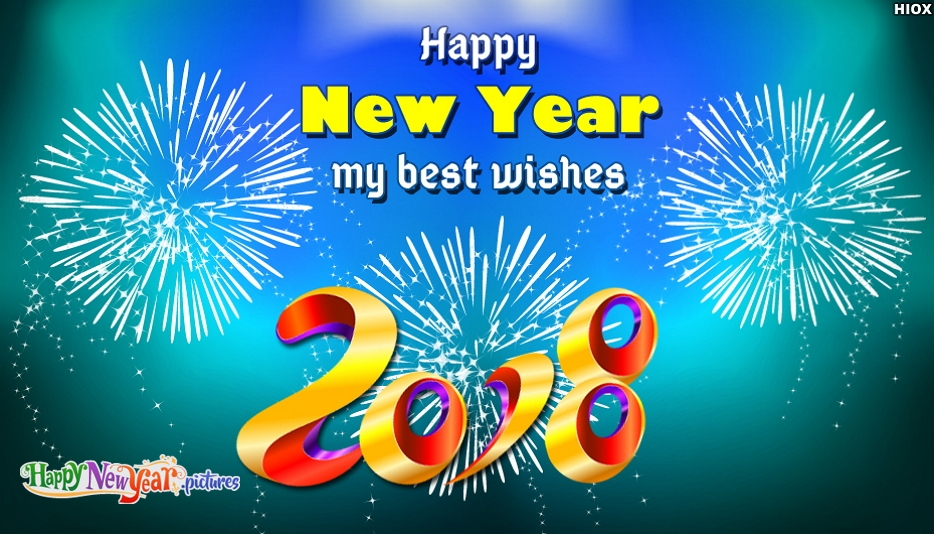Happy New Year My Best Wishes