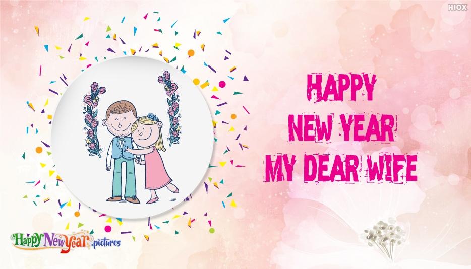Happy New Year My Dear Wife