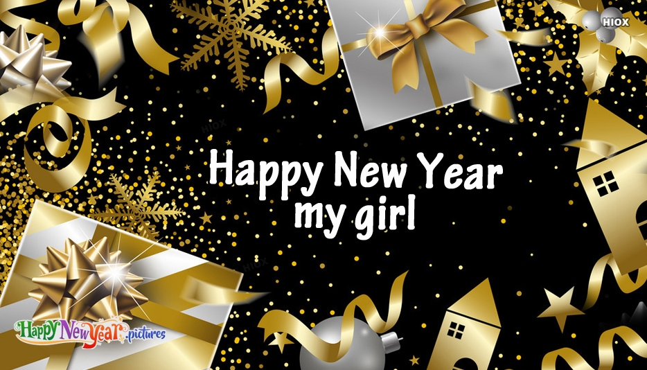 Happy New Year My Girl Images