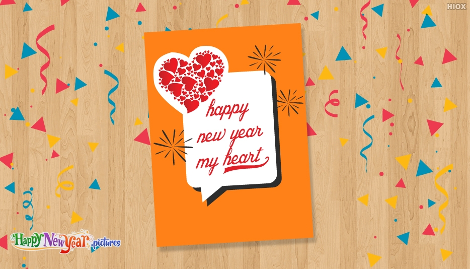 Happy New Year My Heart