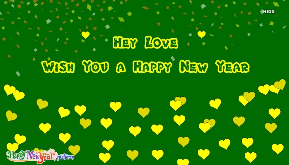 Happy New Year My Love Greetings