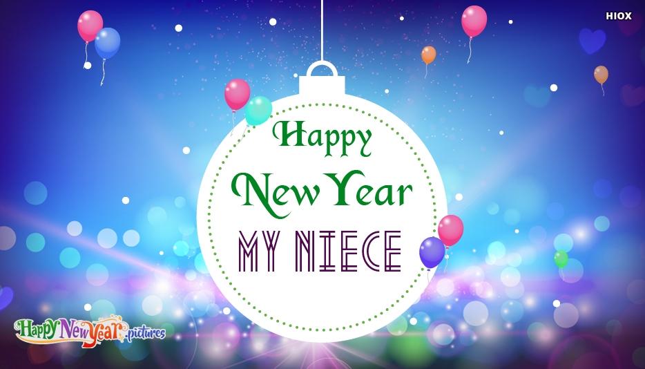 Happy New Year My Niece