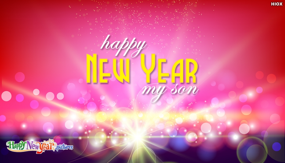 Happy New Year Images for Son
