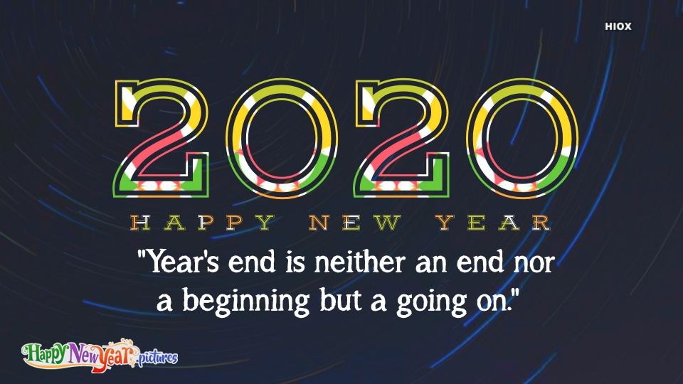 Happy New  Year Beginning