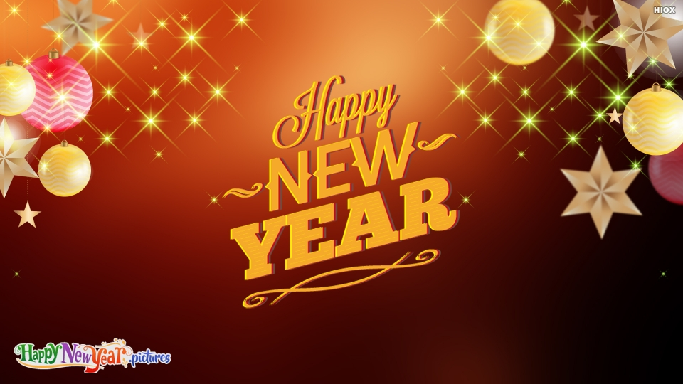 Happy New Year My Wellwishers