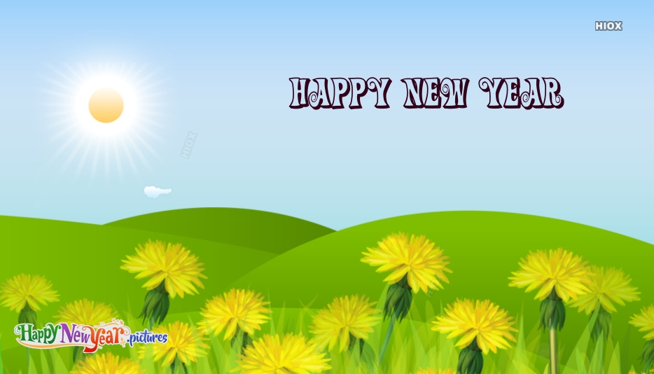 Happy New Year Nature Images, Quotes
