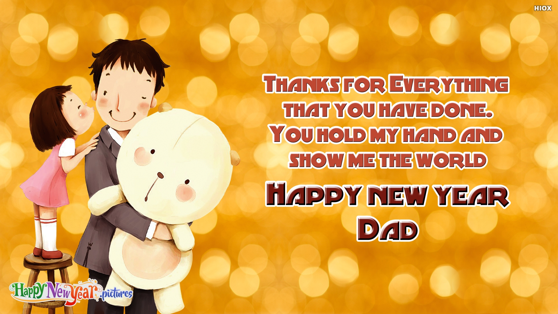 Happy New Year Papa