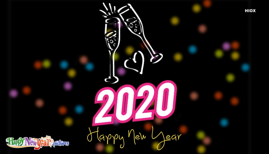 Happy New Year Wallpapers for Photo Frame