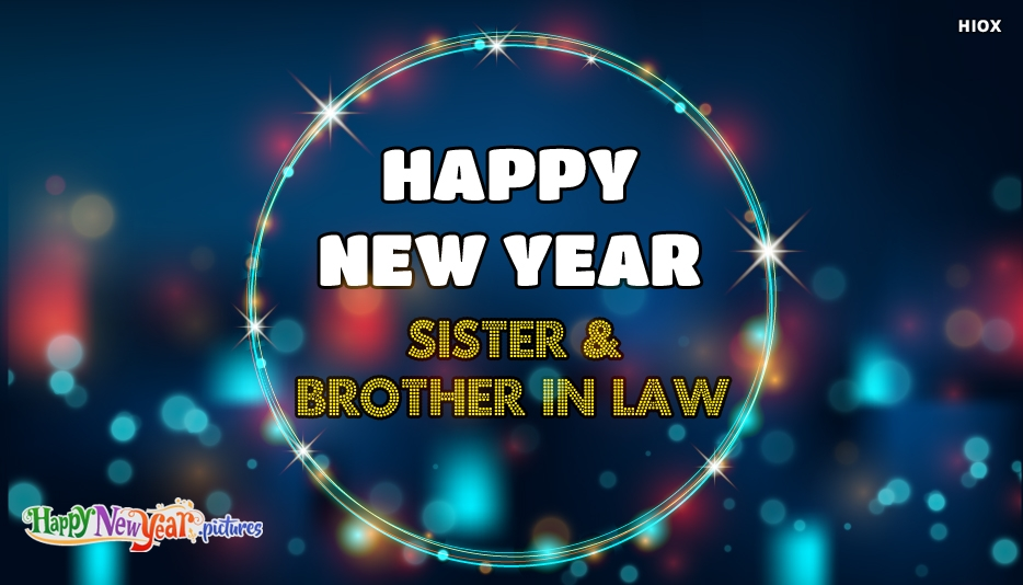 Happy New  Year Sister
