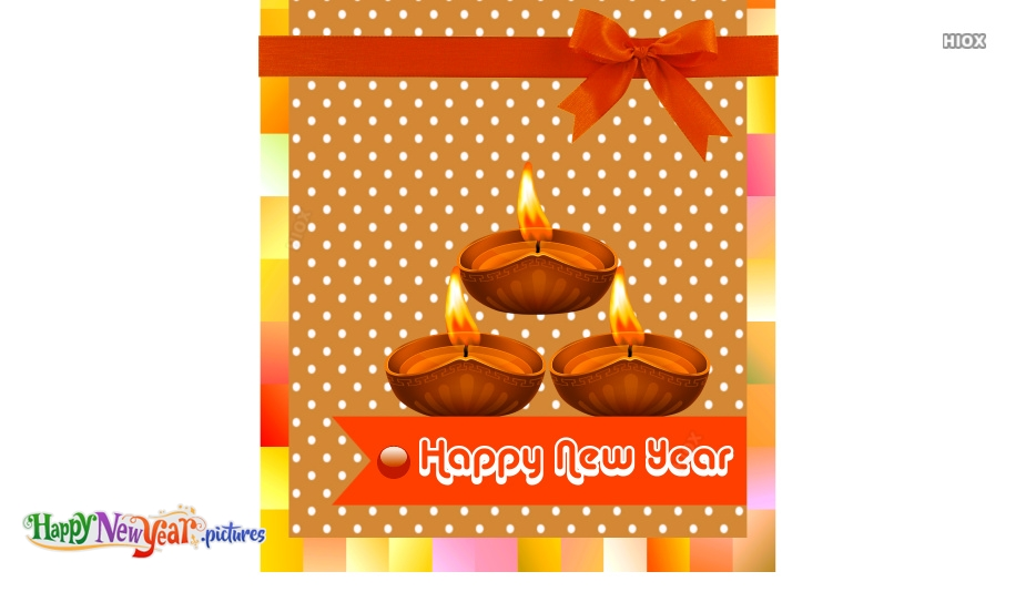 Happy New Year Images, Pictures With Diyas