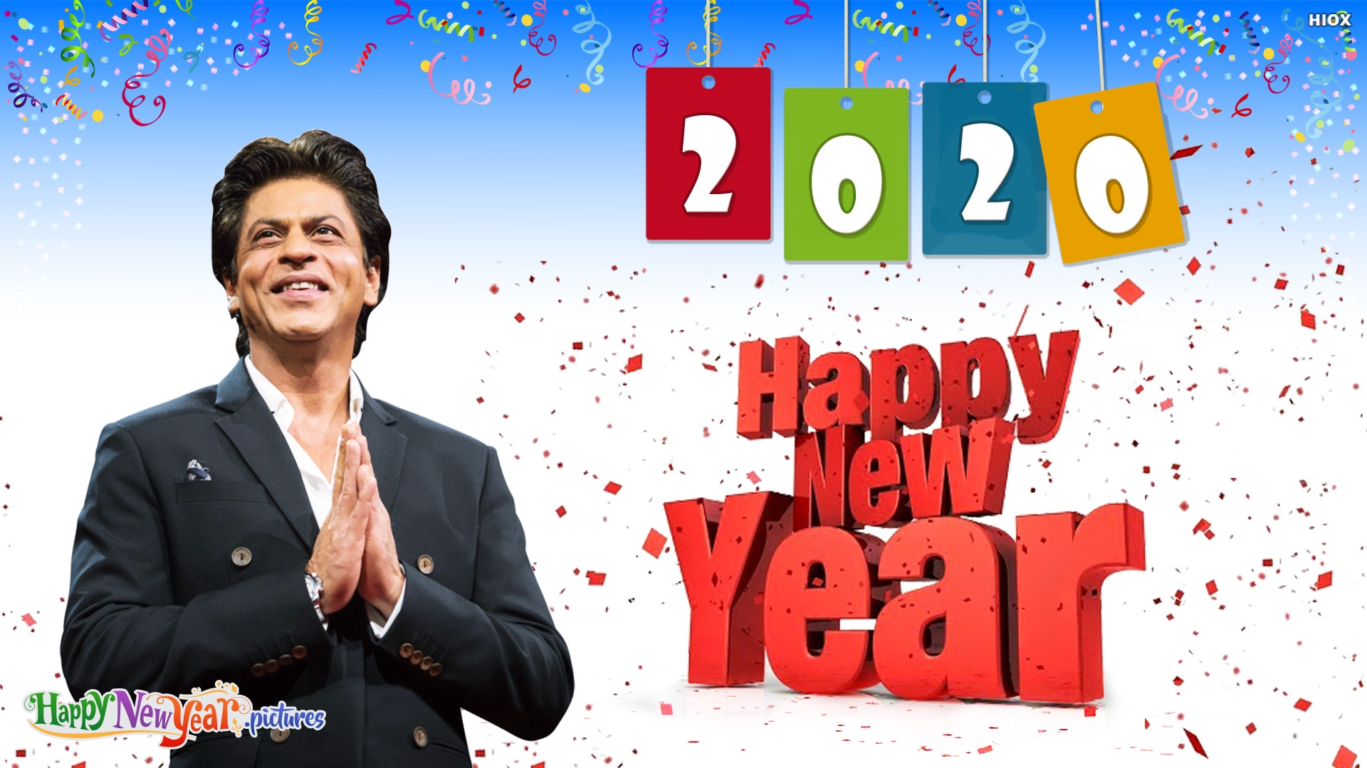 Happy New Year To Sharukh Khan Fans