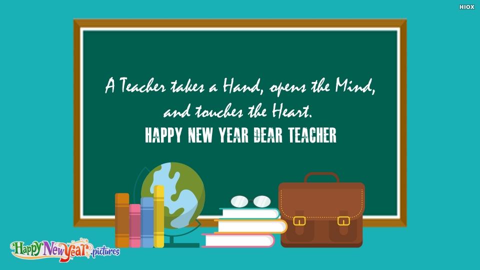 Happy New Year Dear Teacher
