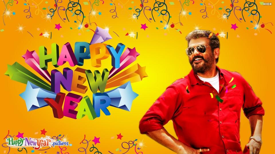Happy New  Year Thala