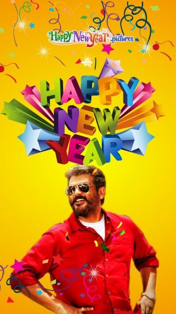 Happy New Year To Thala Ajith Fans