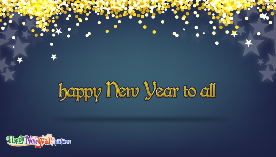 Happy New Year To All Wishes