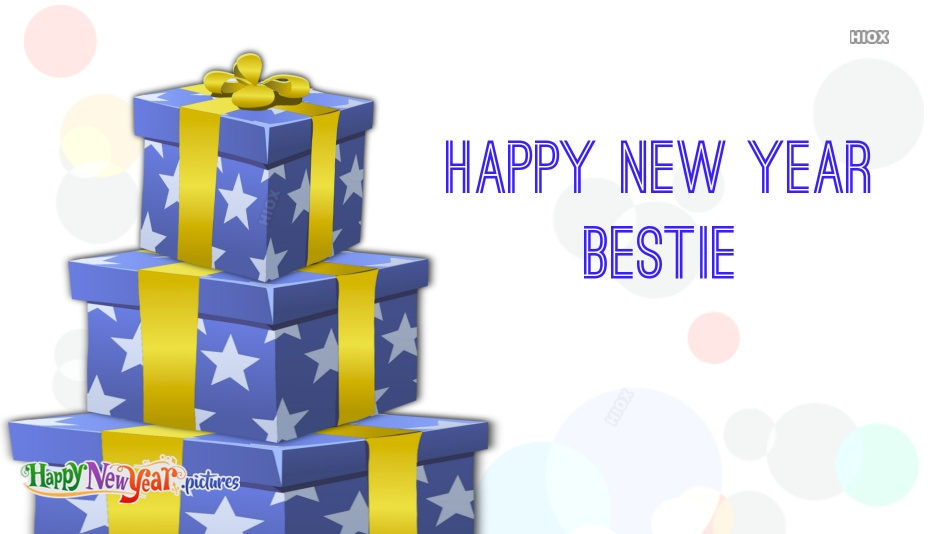 Happy New Year Wishes for Bestie Images