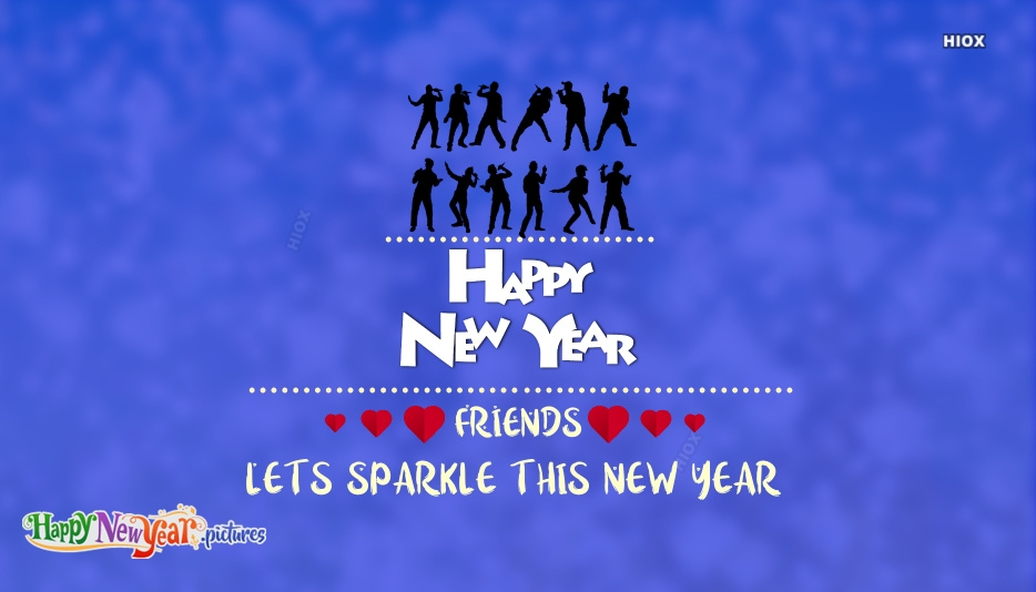 Happy New Year To Facebook Friends