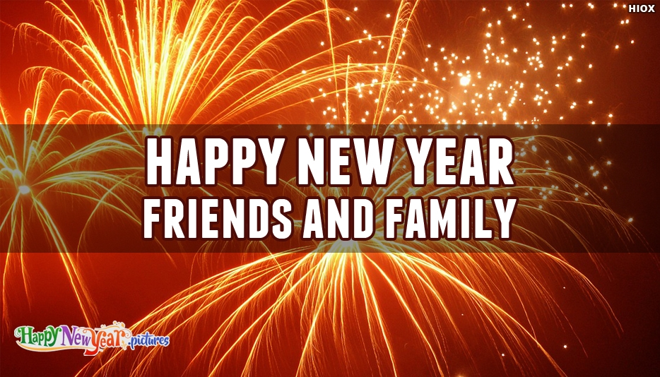Happy New Year To Friends And