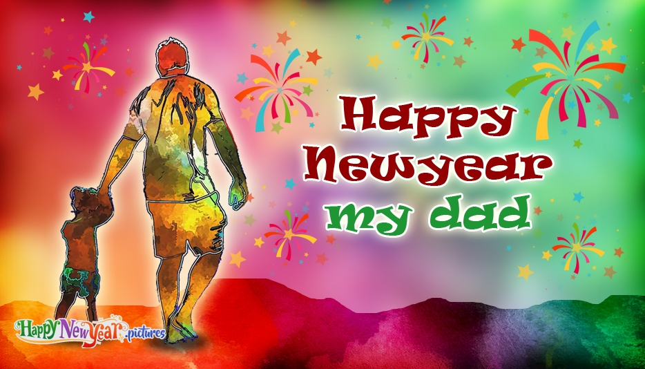 Happy New Year Images for Father