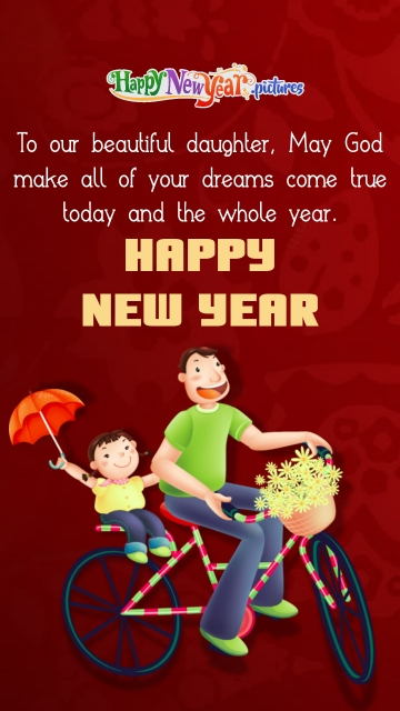 Happy New Year To My Daughter