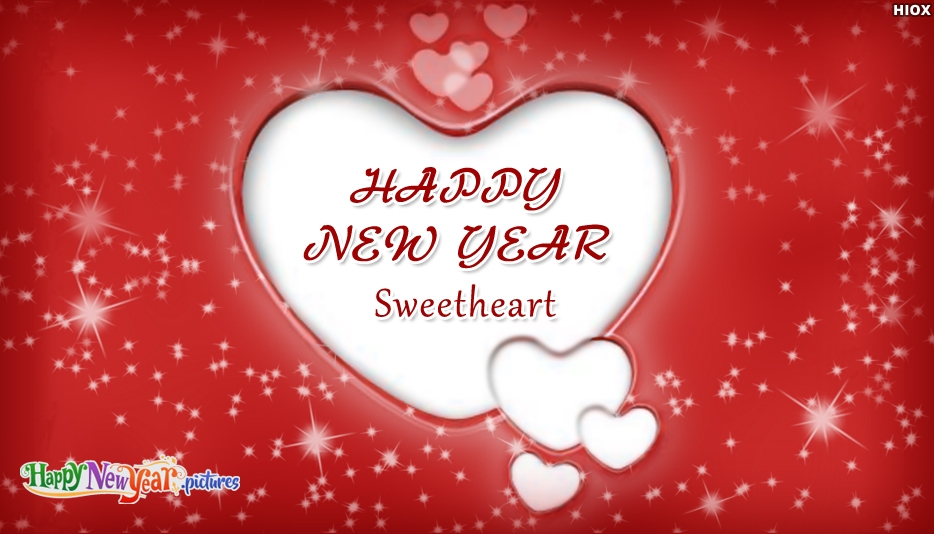 Happy New Year To Sweetheart