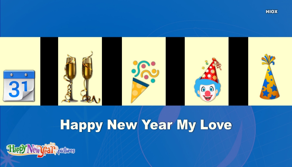 Happy New Year To The One I Love