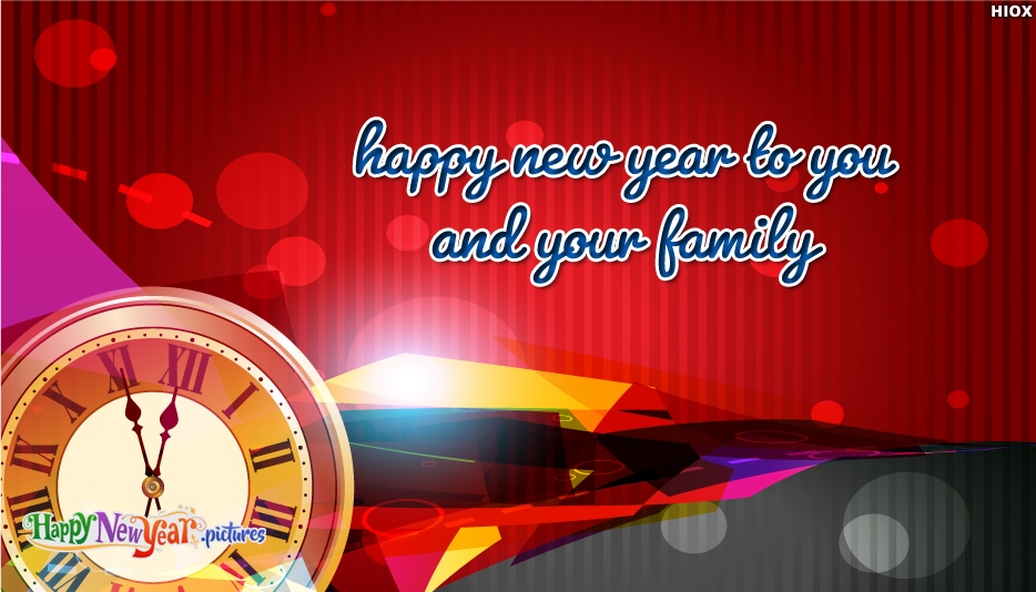 Happy New Year To You and Your Family Download