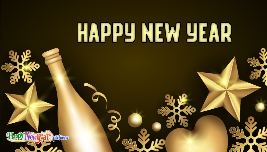 Happy New Year Wallpaper - Happy New Year Images for Friends